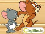 Peynir Hırsızı Jerry - Jerry ve yeğeni evin dolabından peynirleri kaçırıyorlar