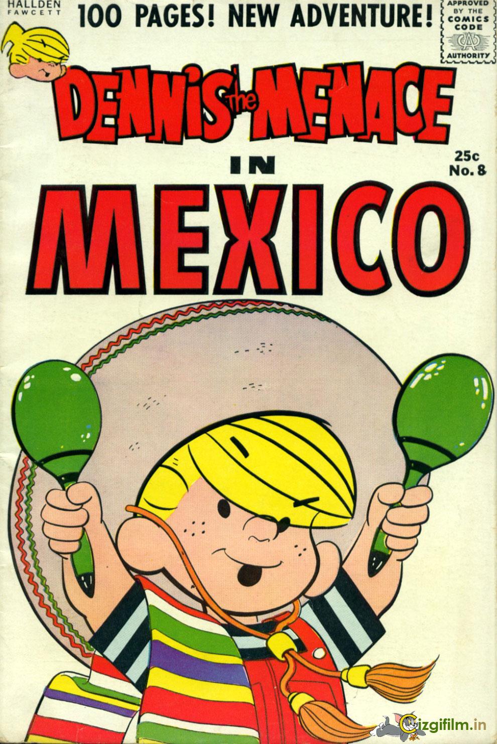 Afacan Çocuk Dennis » Dennis Meksikada - Tam boy görmek için tıklayın