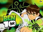 Ben 10 Saati - Ben 10 saati ve 10 kahramandan biri olan yeşil adam afişi