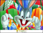Hediye Paketi - Kurnaz tavşan bugs bunny hediye paketlerini dört gözle merak edip açıyor