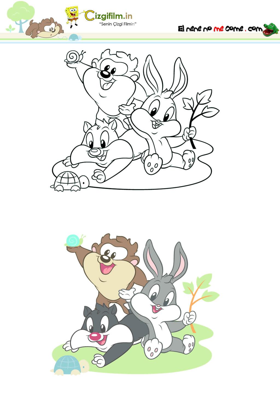 Bugs Bunny » Küçük Bugs Bunny - Tam boy görmek için tıklayın