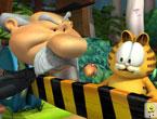 3D Garfield - 3D (3 Boyutlu) garfielt resim çalışması