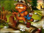 �zci Garfield - Garfielt alm�� malzemeleri ormana izcilik yapmaya gidiyor