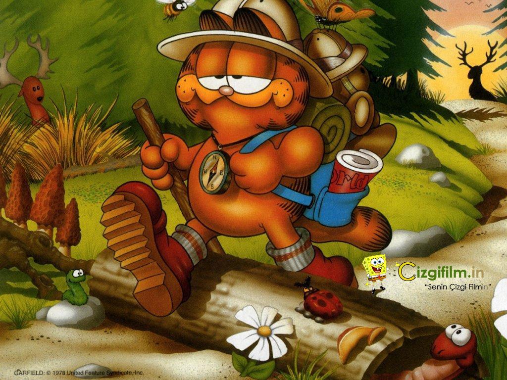 Garfield » İzci Garfield - Tam boy görmek için tıklayın