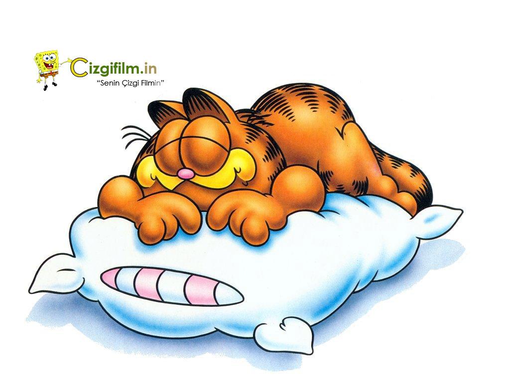 Garfield » Uykucu Garfield - Tam boy görmek için tıklayın