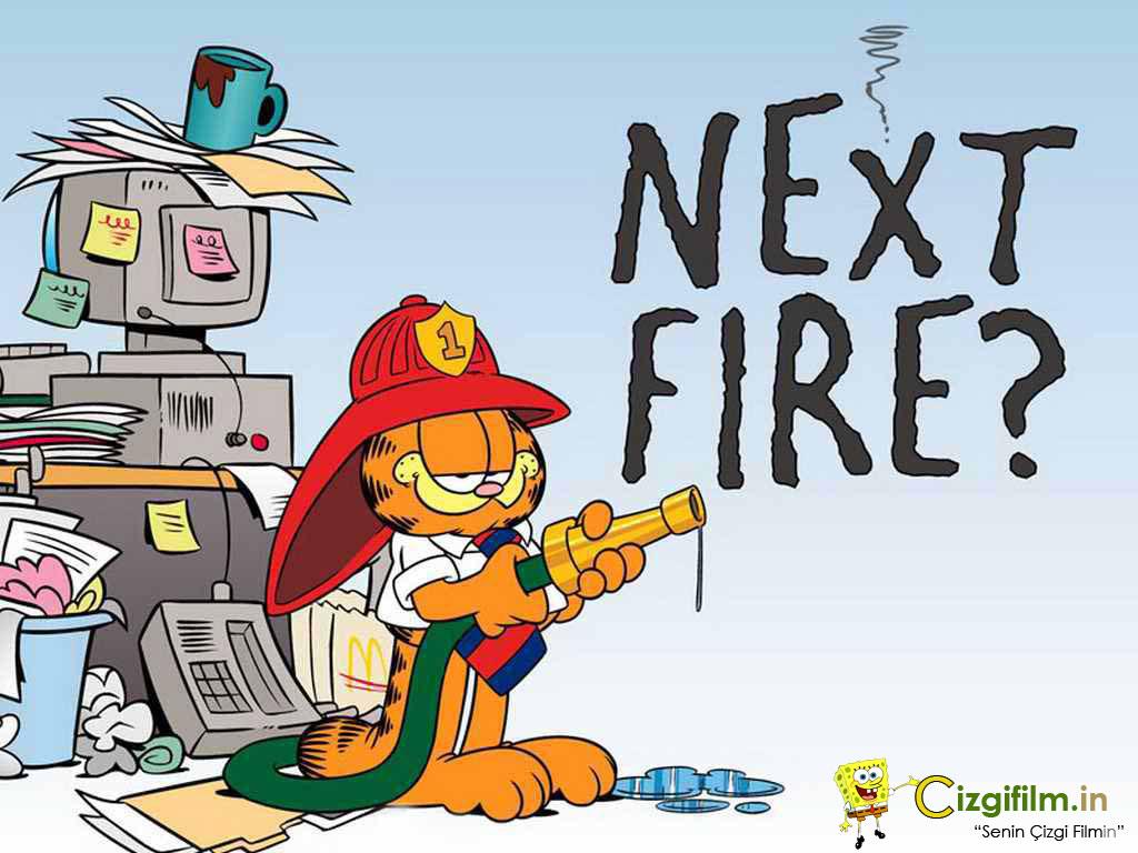 Garfield » Yangına Devam - Tam boy görmek için tıklayın