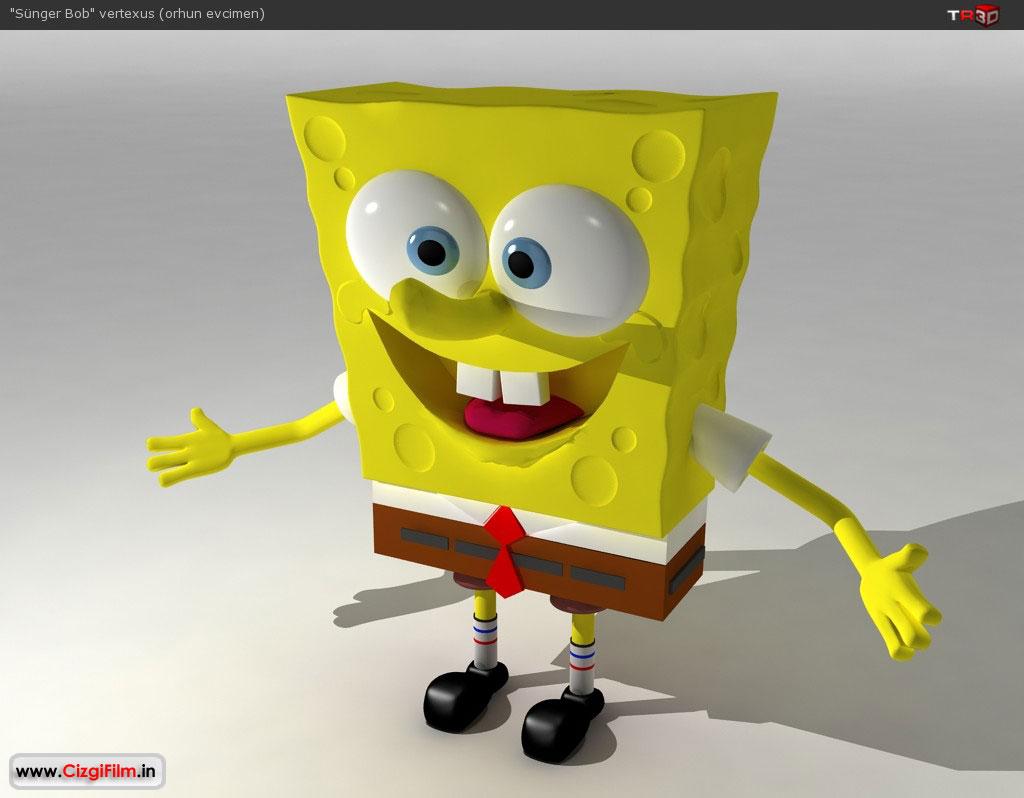 S�nger Bob » 3D S�nger Bob �al��mas� - Tam boy g�rmek i�in t�klay�n