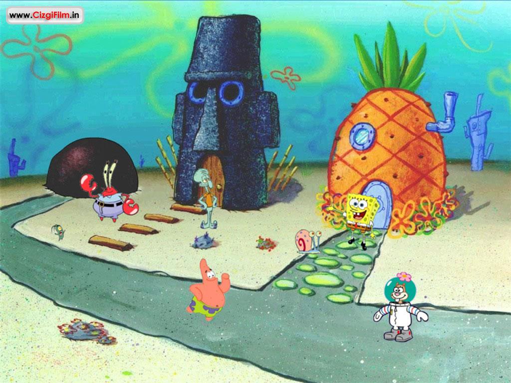 Sünger Bob » Bikini Kasabası - Tam boy görmek için tıklayın
