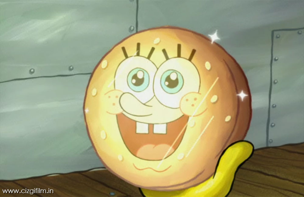 Sünger Bob » Yağlı Yengeç Burger - Tam boy görmek için tıklayın