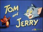 Jerrynin Evi - Tom Jerry'nin evinin önünde Jerrye bakıyor