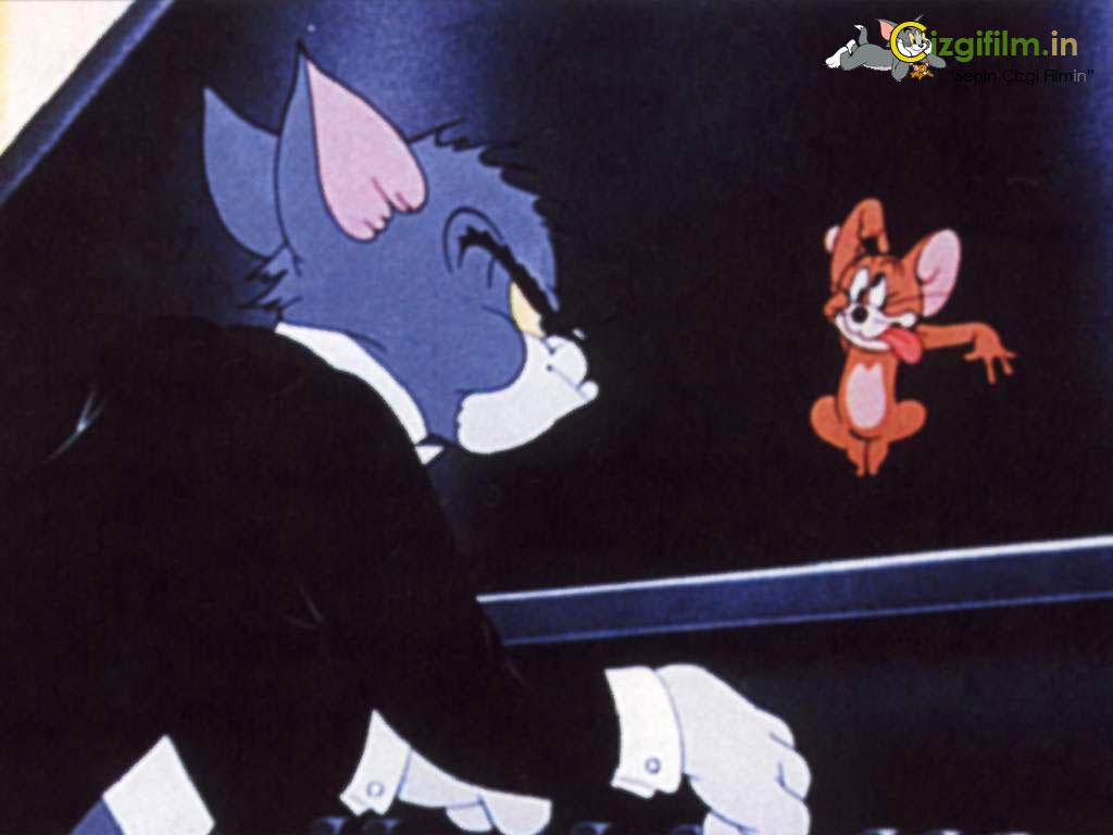 Tom ve Jerry » Piyano Çalan Tom Jerry - Tam boy görmek için tıklayın
