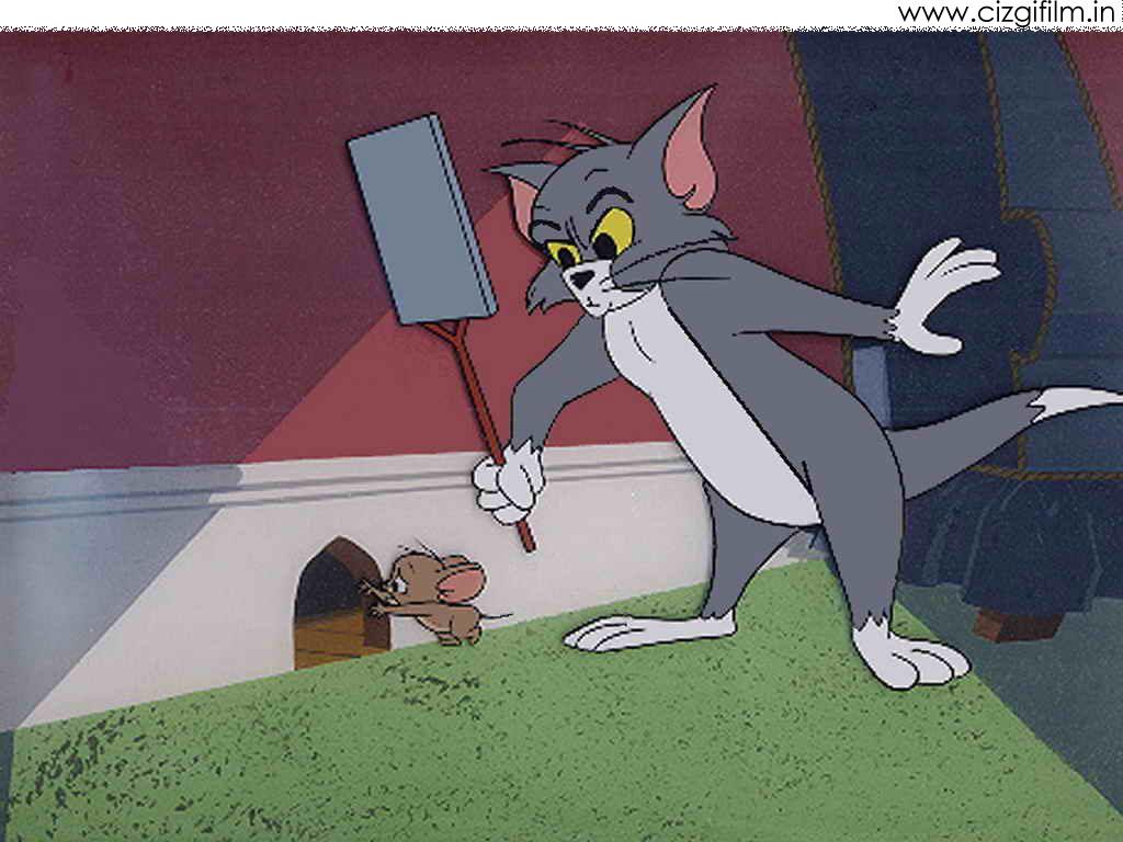 Tom ve Jerry » Tom Jerryi Kovalıyor - Tam boy görmek için tıklayın