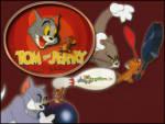 Tom ve Jerry Kapışması - Jerry bowling topunun içine girmiş tom onu arıyor